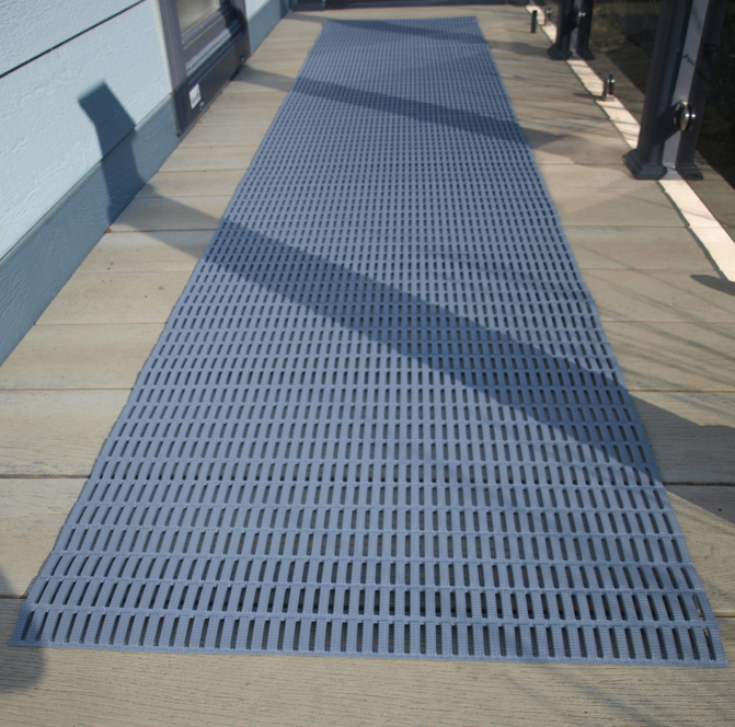 Outdoor Non Slip Mats For Decking 3m 2 Colours The Mayfield Group