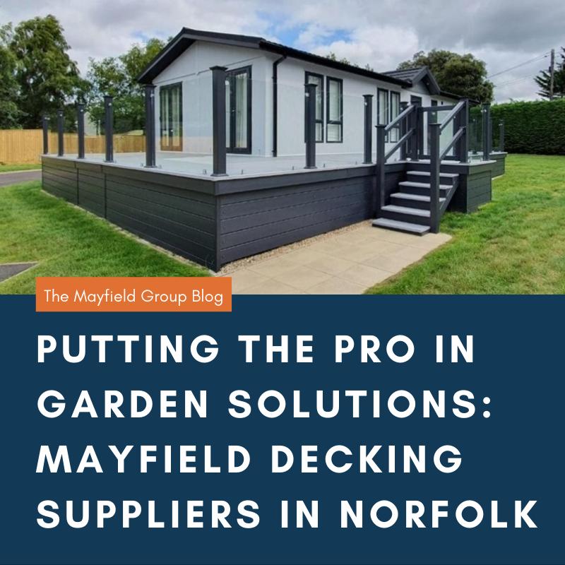 Decking in Norfolk
