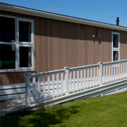 static caravan access ramps