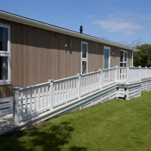 access ramp for holiday home