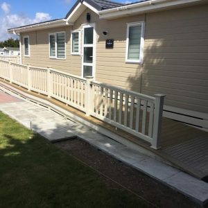 mayfield focus decking with access ramp