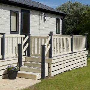 upvc holiday home gates