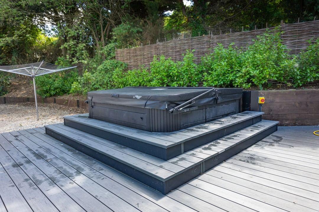 Hot Tub Decking Platform