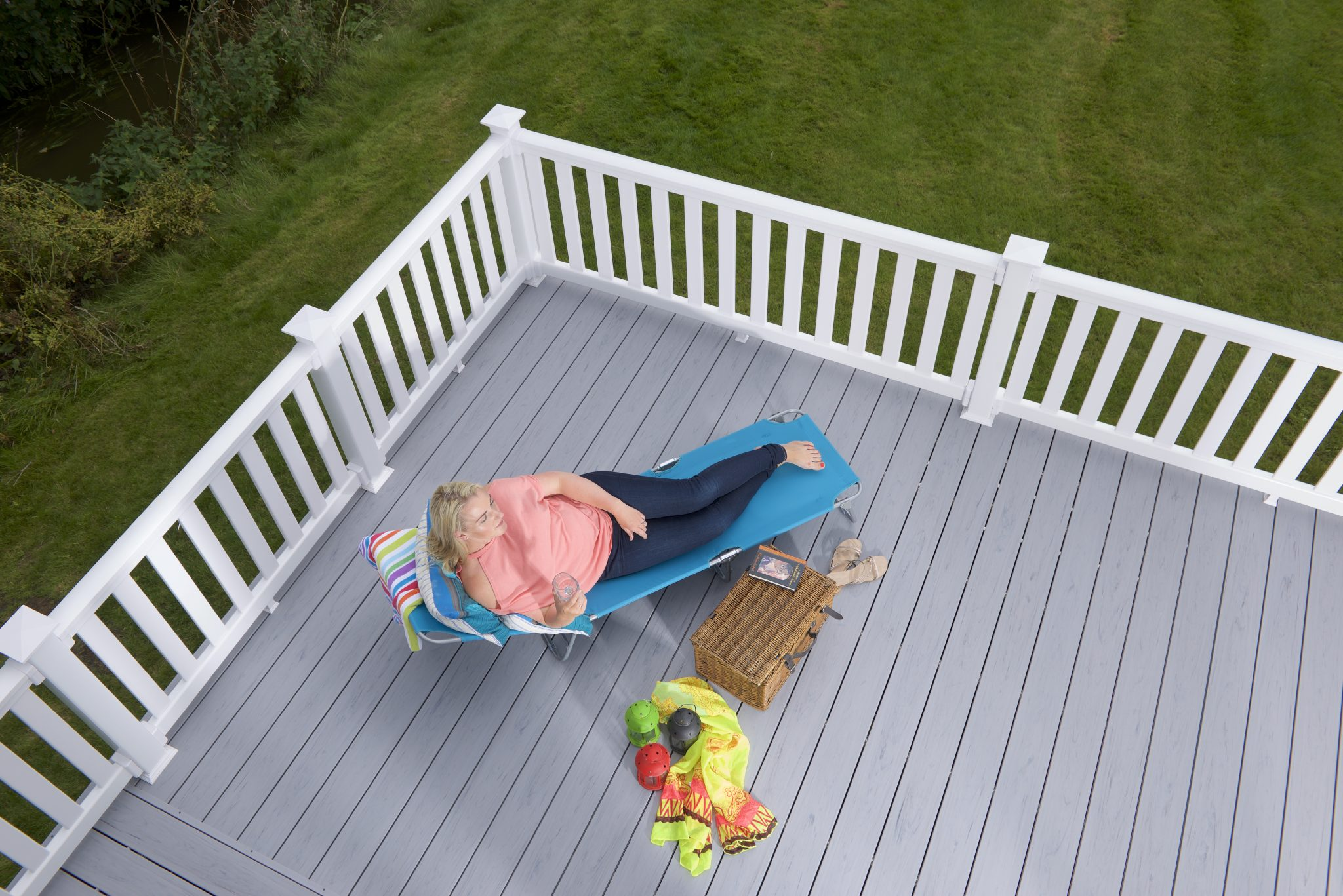 Why do we use uPVC in decking