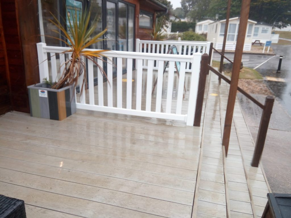 Bespoke Barriers as Social Distancing Measures for Holiday Parks