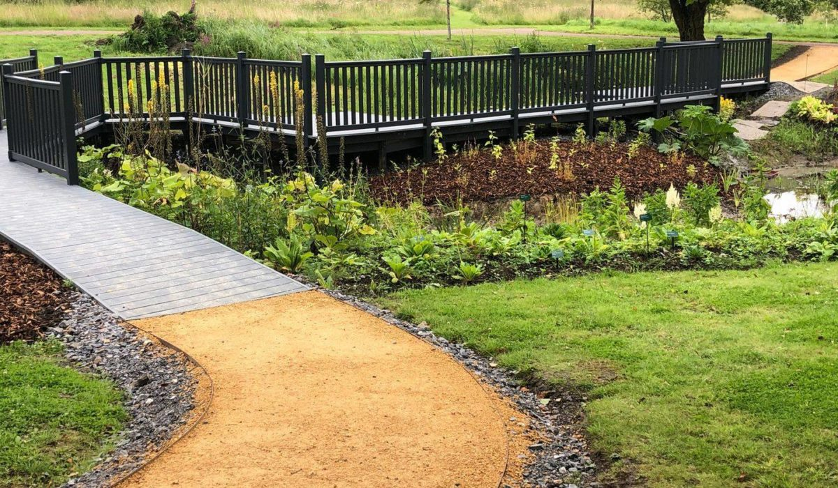 uPVC Walkway at National Botanic Garden of Wales by Mayfield Decking