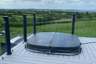 Hot Tub for Decking by The Mayfield Group