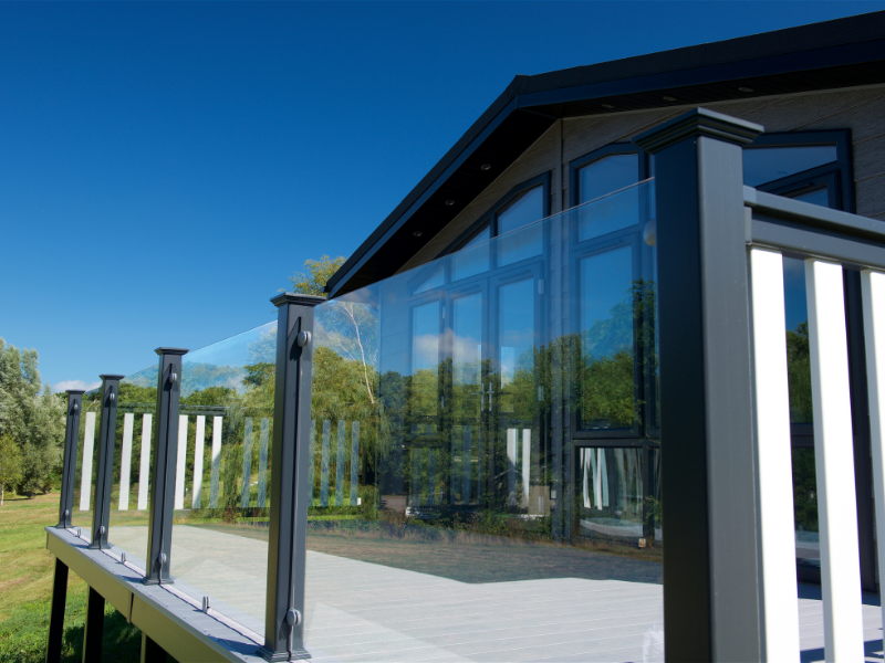 Frameless Glass Balustrades by Mayfield Decking