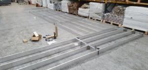 aluminium deck subframe